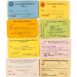 Los Angeles Railroad Pass Collection