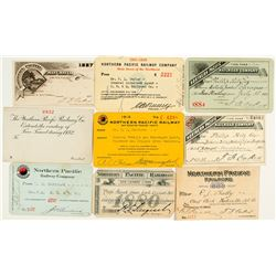Northern Pacific Railroad Annual Pass Collection