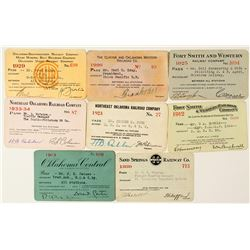 Oklahoma Railroad Pass Collection 1