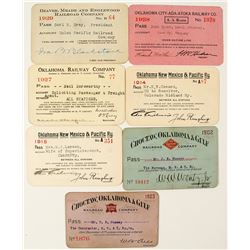Oklahoma Railroad Pass Collection 2