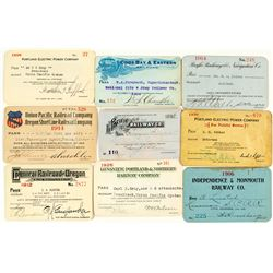 Oregon Railroad Pass Collection
