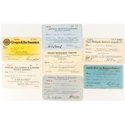 Oregon Railroad Variety Pass Collection