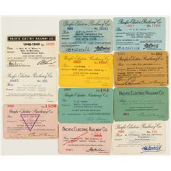 Pacific Electric Railway Co. Annual Pass Collection