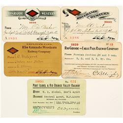 Rio Grande Western Railway Pass Collection
