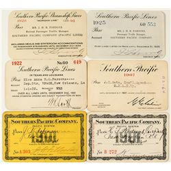 Southern Pacific Railroad Pass Collection