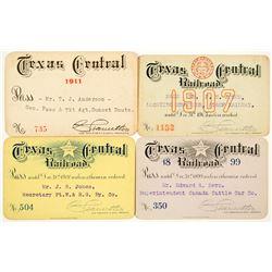 Texas Central Railroad Annual Passes