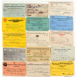 Texas Railroad Pass Collection 2