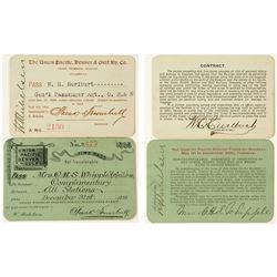 Union Pacific, Denver & Gulf Railway Co. Annual Passes