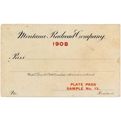 Railroad Plate Pass Sample