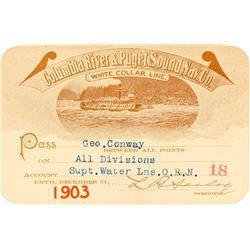Columbia River & Puget Sound Navigation Co. Steamer Pass (1903)
