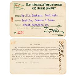 North American Transportation & Trading Co. Steamer Pass (1901) (Alaska Gold Rush)