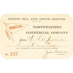 Northwestern Commercial Co. Steamer Pass (1903) (Bering Sea & Arctic Routes)