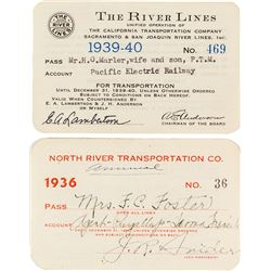 Two River Steamer Passes (California & Minnesota)