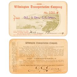 Wilmington Transportation Co. Steamer Pass (1898) (Catalina Island)