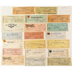 California Wells Fargo Check Collection