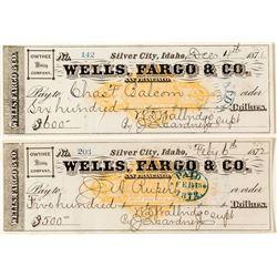 Two Choice Wells Fargo Mining Checks