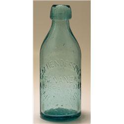 G. M. Henderson Bonanza Mineral Water