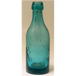 E. L. Billings Soda Bottle