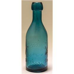 D & M Soda Bottle, Empire Soda Works