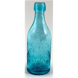 H. Ficken Soda Bottle