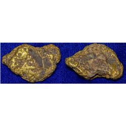 One ounce (mostly) Gold Nugget
