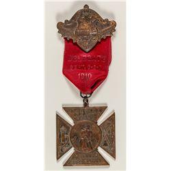 Butte Fireman's Badge