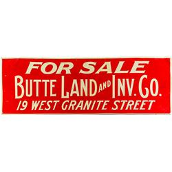 Butte Realty Sign