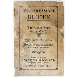 Irrepressible Butte (Early Booklet)