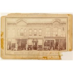 Early Butte Grand Opera House Photo