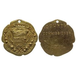 1909 Montana State Fair Medal