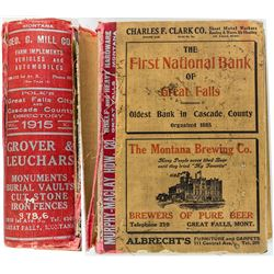 Great Falls & Cascade County Directory (1915)