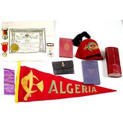 Algeria Shriner Memorabilia