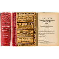 Early Missoula Directory