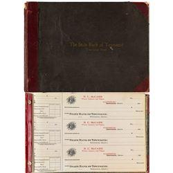 R.C. McCabe Wines, Liquors, and Cigars Checkbook