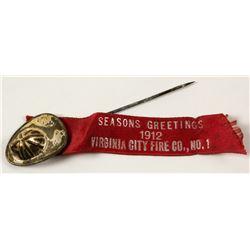 Virginia City Fireman's Ribbon