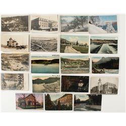 Group of 21 Montana Postcards