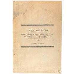 Montana Banking Laws