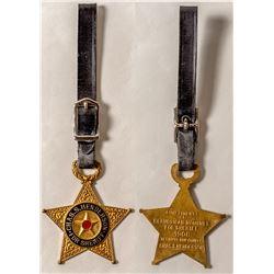 Silver Bow Sheriff Political Fob