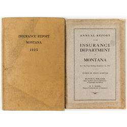 Two Rare Insurance Reports, Montana