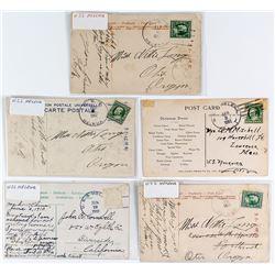 USS Helena Postcards