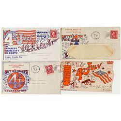 Butte 4th of July Fancy Envelopes