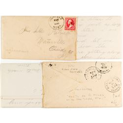 Highfield Cover with Letter