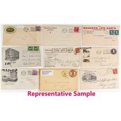 Large Missoula Postal History Collection