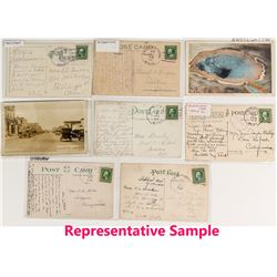 Yellowstone County Postal History / Postcard Collection