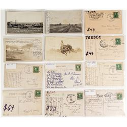 Central Montana Postal History / Postcard Collection