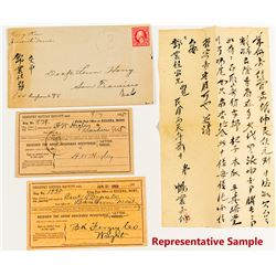 Fergus County, Montana Covers Collection incl. Chinese Contents