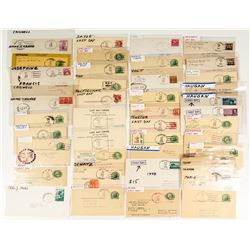 First and Last Day Montana Postal Collection