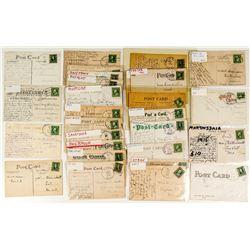 Montana Girls Postcard Collection