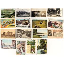 Missoula County Postal History / Postcard Collection