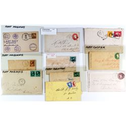 Montana Forts Postal Cover Collection